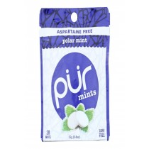 Pur Mint Mints - Polar Mint - Case Of 12 - 22 Gram