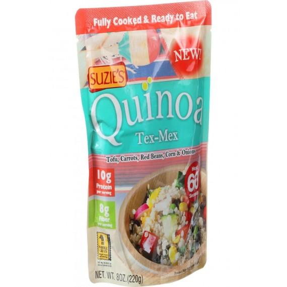 Suzie's Quinoa - Ready To Eat - Tex Mex - 8 Oz - Case Of 6