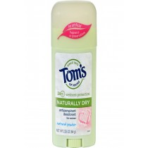 Tom's Of Maine Women's Antiperspirant Deodorant Natural Powder - 2.25 Oz - Case Of 6
