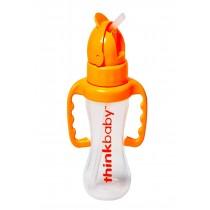 Thinkbaby Thinkster - Straw Bottle - Orange