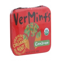 Vermints Breath Mints - All Natural - Cinnamint - 1.41 Oz - Case Of 6
