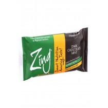 Zing Bars Nutrition Bar - Dark Chocolate Sunflower Mint - Nut Free - 1.76 Oz Bars - Case Of 12