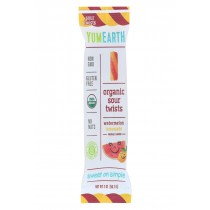Yumearth Organics Sour Twst - Organic - Watermln - Limend - Case Of 12 - 2 Oz