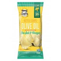 Good Health Olive Oil - Sea Salt And Vinegar - Case Of 12 - 5 Oz.
