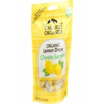 Yumearth Organics Organic Lemon Drops - Cheeky Lemon - 3.3 Oz - Case Of 6