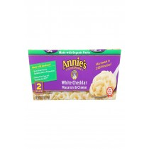 Annie's Homegrown White Cheddar Microwavable Macaroni And Cheese Cup - Case Of 6 - 4.02 Oz.