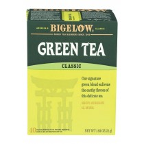 Bigelow Tea Tea - Green - Case Of 6 - 40 Bag