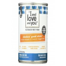 I And Love And You Cluckin Good Stew - Wet Food - Case Of 12 - 13 Oz.