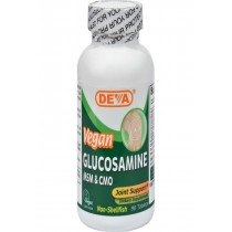 Deva Vegan Glucosamine Msm And Cmo - 90 Tablets