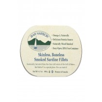 Bar Harbor Smoked Sardine Fillets - Case Of 12 - 6.7 Oz.
