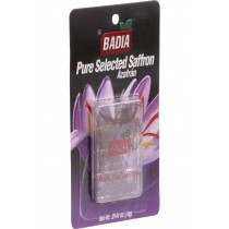 Badia Spices Saffron - Spanish - .4 G - Case Of 12