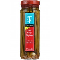 Tillen Farms Beans - Pickled - Crispy Dilly - 12 Oz - Case Of 6