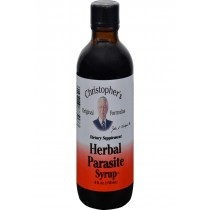Dr. Christopher's Herbal Parasite Syrup - 4 Fl Oz
