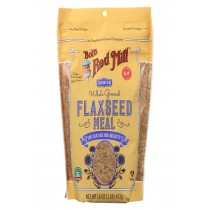Bob's Red Mill Flaxseed Meal - Gluten Free - Case Of 4 - 16 Oz