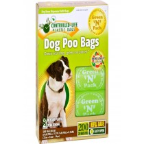 Green-n-pack Dog Poo Bags - 200 Pack