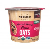 Woodstock Organic Oat Cup - Mixed Berry Acai - 1.8 Oz.
