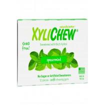Xylichew Gum - Spearmint - Counter Display - 12 Pieces - 1 Case