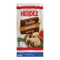 Herdez Tortillas Flour - Burrito - Case Of 12 - 17 Oz.