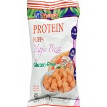 Kay's Naturals Protein Puffs - Veggie Pizza - Case Of 6 - 1.2 Oz