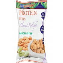 Kay's Naturals Protein Puffs - Almond Delight - Case Of 6 - 1.2 Oz