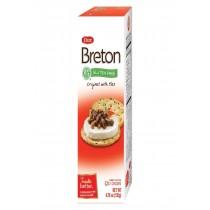 Dare Breton Crackers - Original With Flax - Case Of 6 - 4.76 Oz.