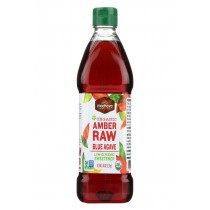 Madhava Honey Agave Nectar - Organic - Amber - Case Of 4 - 46 Oz