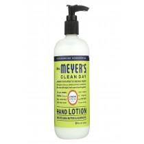 Mrs.meyers Clean Day Hand Lotion - Limen Verbena - Case Of 6 - 12 Fl Oz