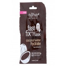 Alba Botanica Fast Fix Sheet Mask - Coconut Water Hydrate - Case Of 8 - 1 Count