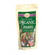 Edward And Sons Organic Croutons - Italian Herbs - Case Of 6 - 5.25 Oz.