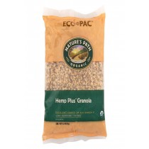 Nature's Path Organic Hemp Plus Granola Eco-pac - Case Of 6 - 26.4 Oz