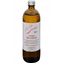 Sonne's Old Fashioned Cod Liver Oil No 5 - 16 Fl Oz