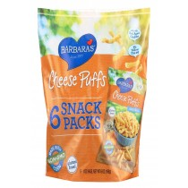 Barbara's Bakery Cheese Puffs - Multipack - Case Of 6 - 6/1 Oz
