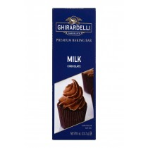 Ghirardelli Premium Baking Bar - Milk Chocolate - Case Of 12 - 4 Oz