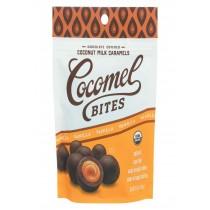 Cocomel Carmel Bite - Organic - Vanilla - Case Of 6 - 3.5 Oz