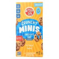 Enjoy Life Crunchy Minis - Chocolate Chip - Case Of 6 - 6 Oz.