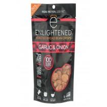 Enlightened Crisps - Garlic - Onion - Case Of 12 - 4.5 Oz