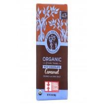 Equal Exchange Organic Dark Chocolate Caramel Crunch With Sea Salt - Caramel Crunch - Case Of 12 - 2.8 Oz.