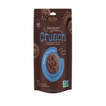 Fancypants Crunch Cookies - Double Chocolate - Case Of 6 - 5 Oz.