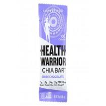 Health Warrior Chia Bar - Dark Chocolate - Case Of 15 - 0.88 Oz.
