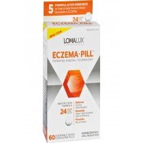 Loma Lux Laboratories Acne Eczema - Chewable - Quick Dissolving - 60 Count