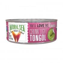 Natural Sea Wild Tongol Tuna - With Sea Salt - 5 Oz.
