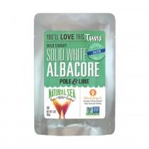 Natural Sea Wild Albacore Tuna Pouch - With Sea Salt - 3 Oz.
