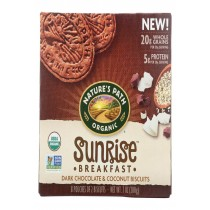 Nature's Path Biscuits - Organic - Chocolate - Coconut - Case Of 6 - 7.05 Oz