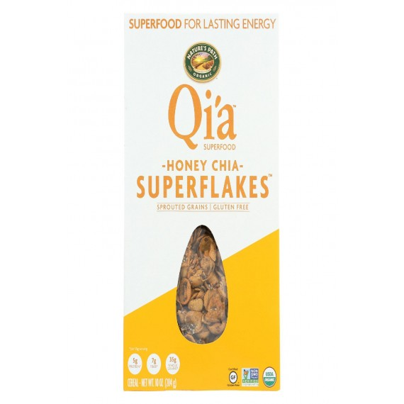 Nature's Path Organic Superflakes - Honey Chia - Case Of 12 - 10.02 Oz