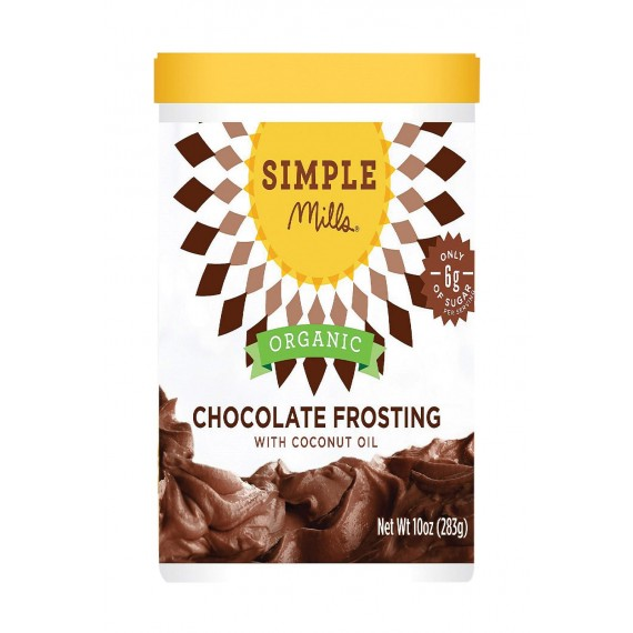 Simple Mills Organic Frosting - Chocolate - Case Of 6 - 10 Oz
