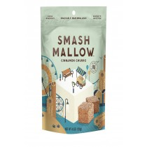 Smashmallow Snackable Marshmallows - Cinnamon Churro - Case Of 12 - 4.5 Oz