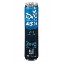 Zevia Zero Calorie Energy Drink - Cola - Case Of 12 - 12 Fl Oz