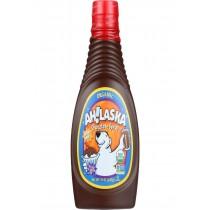 Ahlaska Chocolate Syrup - Organic - 15 Oz - Case Of 12