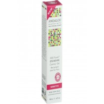 Andalou Naturals Eye Revive Contour Gel - 1000 Roses - .6 Oz