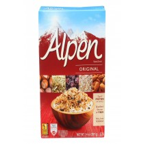Alpen Original Muesli Cereal - Case Of 12 - 14 Oz.